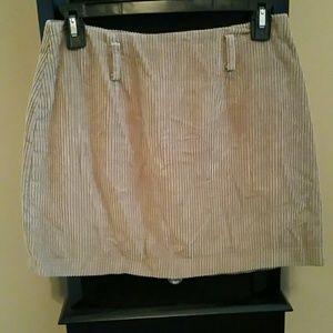 Vintage corduroy Express skirt